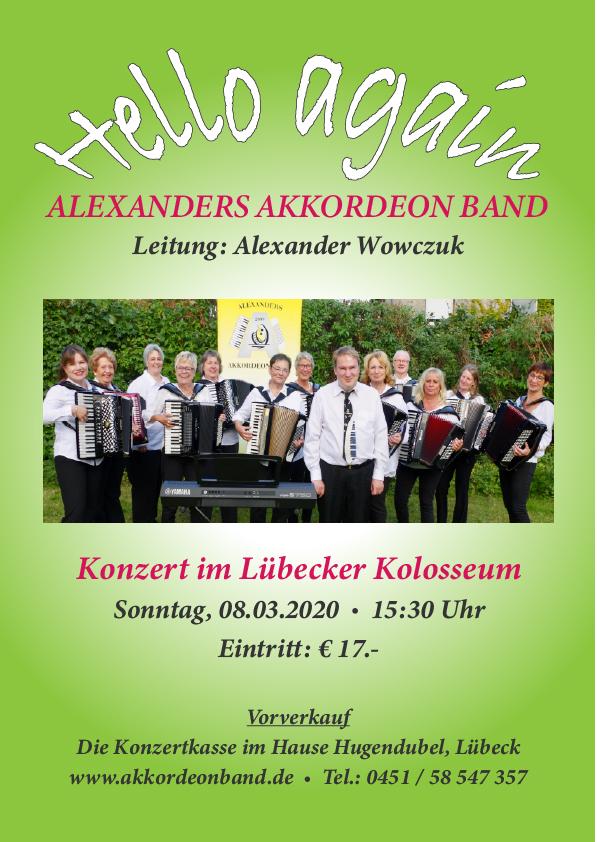 Plakat Konzert 2020